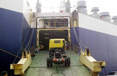 Pengiriman Mobil Antar Pulau