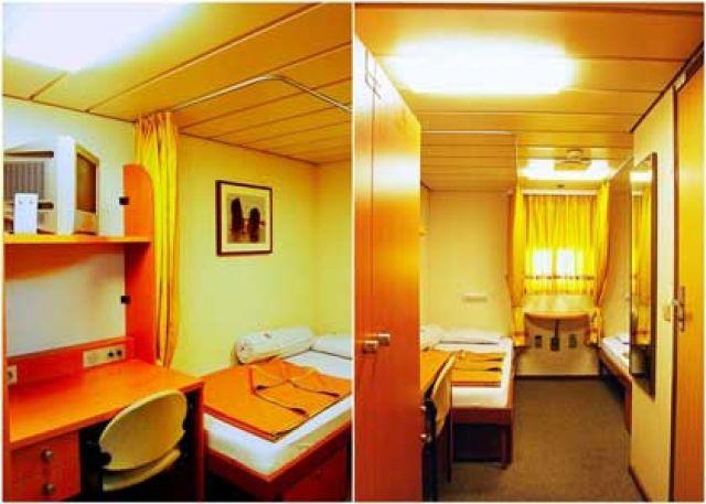 Kenyamanan ruang penumpang kapal laut